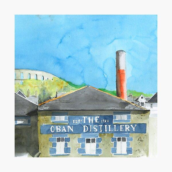 Oban Distillery Photographic Print