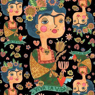 Rapport Frida Kahlo de CatalanART