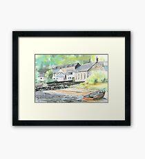 Tobermory Distillery  Framed Print