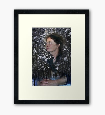 Forest is my mother's love Framed Print