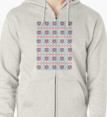 Winter Wonderland Zipped Hoodie