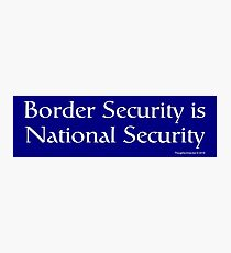 National Security Photographic Print