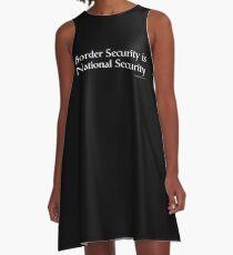 National Security A-Line Dress