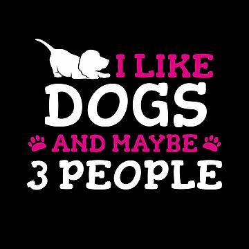 I like Ramen & Dogs & maybe 3 people: Cute T-Shirt for dog and anime lovers by Dogvills