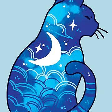 Moon Spirit Cat  by michelledraws