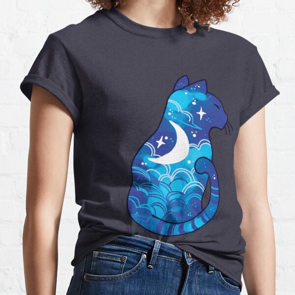 Moon Spirit Cat  Classic T-Shirt