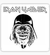 Iron Vader Darth Vader Eddie  MashUp Sticker