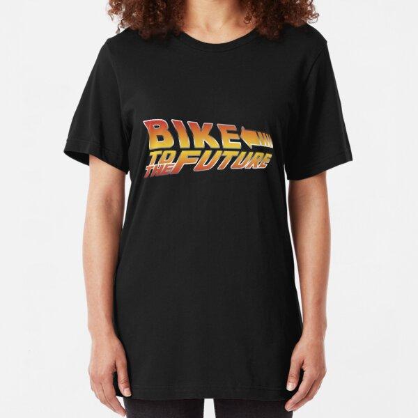 Bike To The Future Slim Fit T-Shirt
