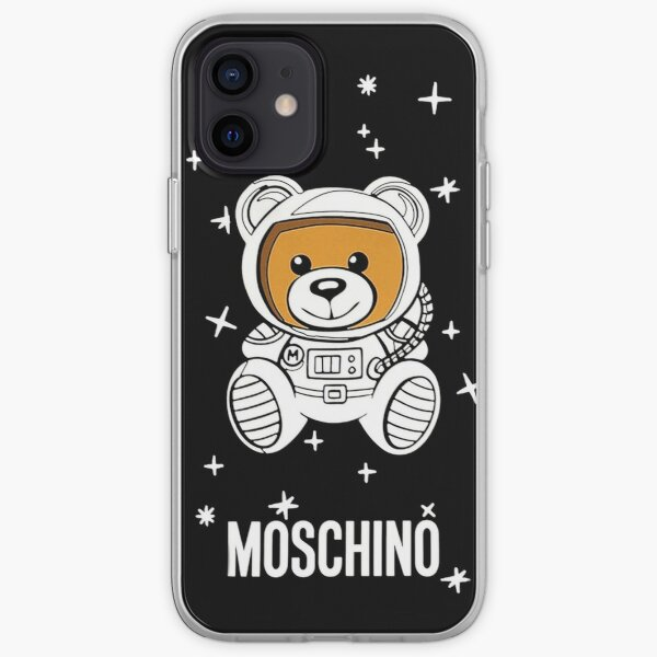 Moschino astronaut Bear iPhone Soft Case