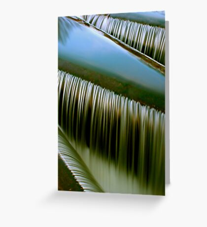 The sound of water Greeting Card
