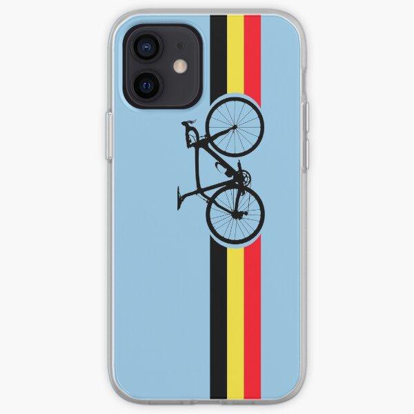 Bike Stripes Belgian National Road Race iPhone Soft Case