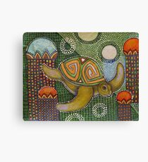 The Garden of Honu Canvas Print