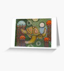 The Garden of Honu Greeting Card