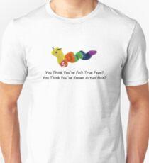 Glaubst du, du hast wahre Angst gefühlt? Sie denken, Sie haben tatsächliche Schmerzen gewusst? (Comic sans) Unisex T-Shirt