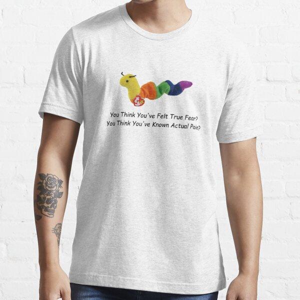 ¿Crees que has sentido verdadero miedo? ¿Crees que has conocido el dolor real? (Comic Sans) Camiseta esencial
