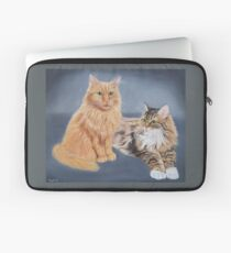 Cat siblings Laptop Sleeve
