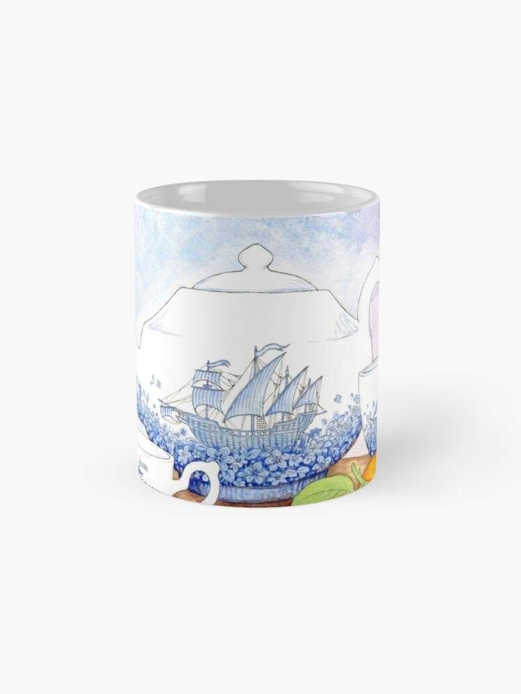 Alternate view of China Ships Mug
