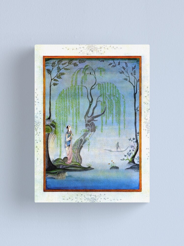 Alternate view of The Nightingale - Kay Nielsen Canvas Print