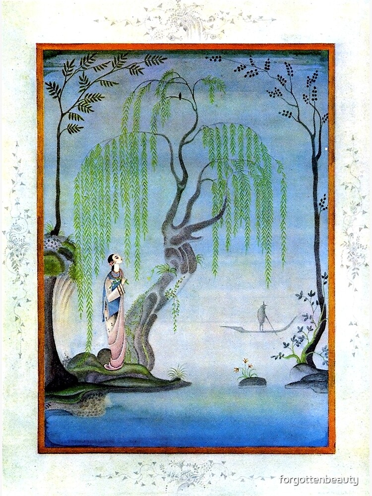 The Nightingale - Kay Nielsen by forgottenbeauty