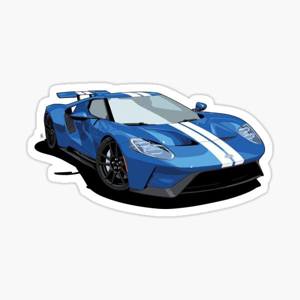2017 GT Blue Sticker