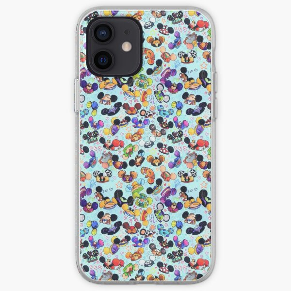Character Hats iPhone Soft Case