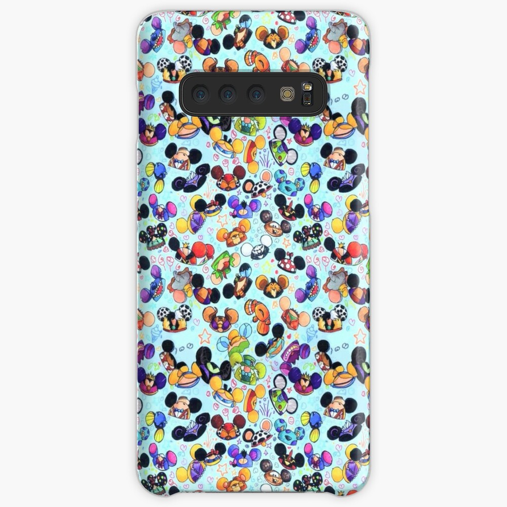 Character Hats Case & Skin for Samsung Galaxy