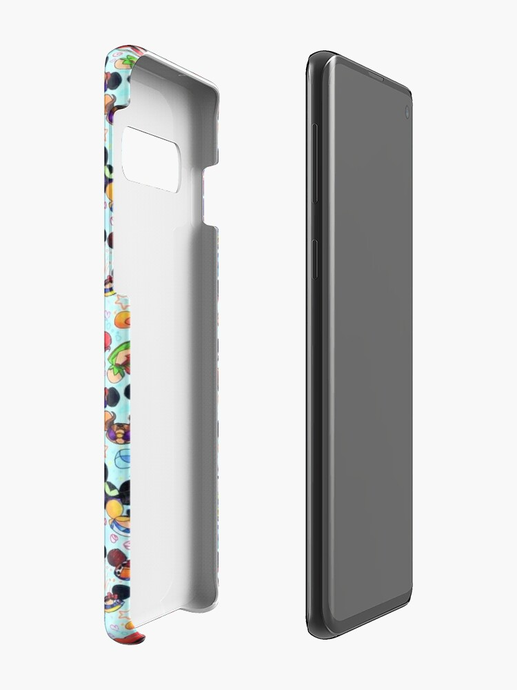 Alternate view of Character Hats Case & Skin for Samsung Galaxy