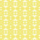 Abstract geometric pattern - gold and white. by kerens