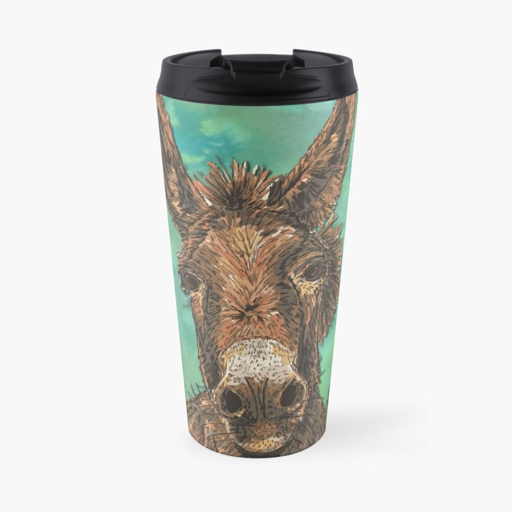 Little Brown Donkey Travel Mug