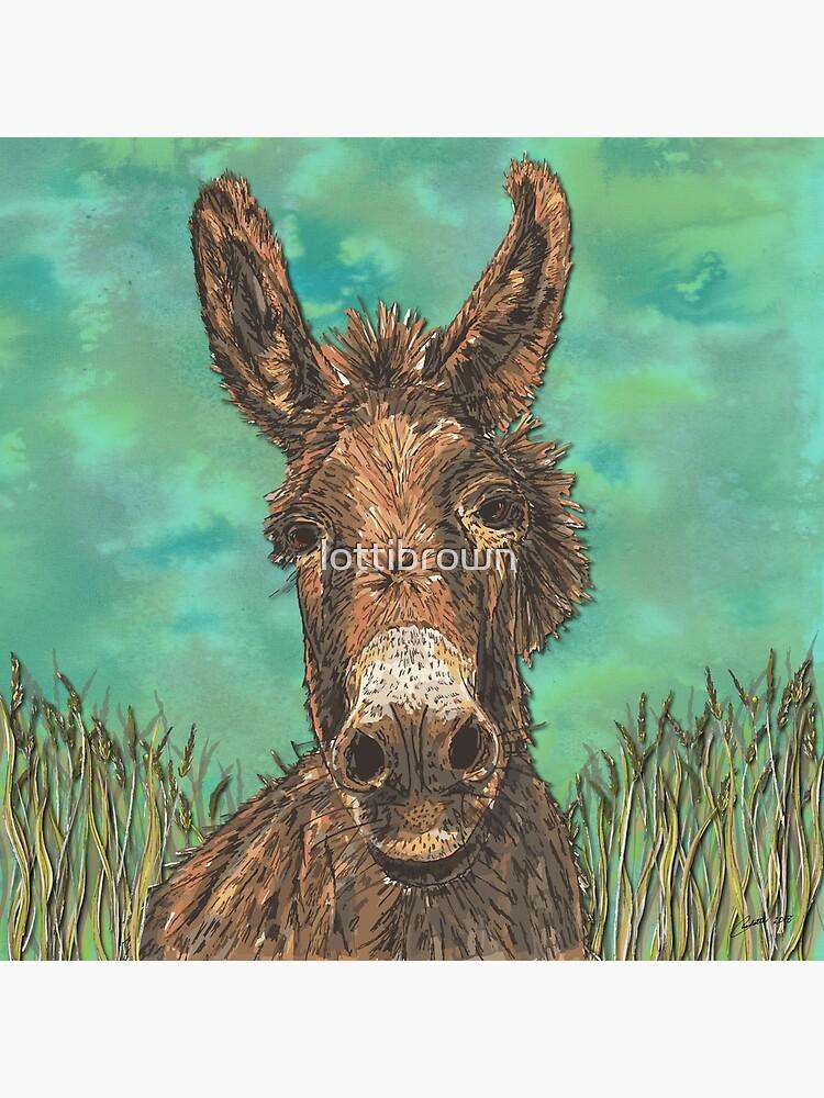 Little Brown Donkey by lottibrown