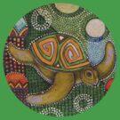 Honu Tee by Lynnette Shelley