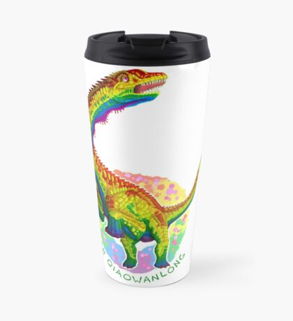 Queer Qiaowanlong (with text)  Travel Mug