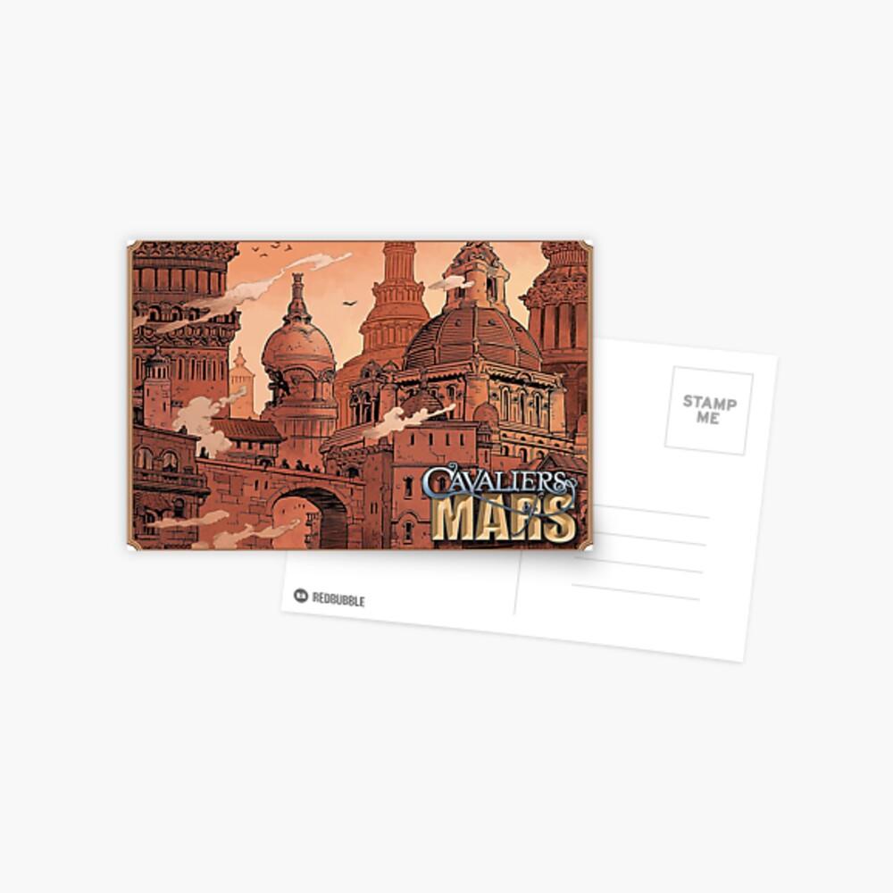 Cavaliers Art: Vance Postcard