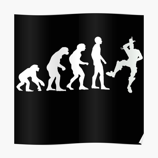 Evolución humana: Take That L Emote Dance Póster