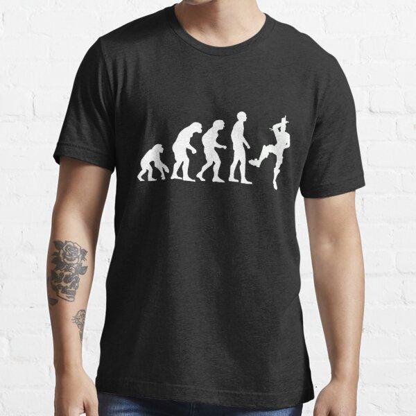 Human Evolution: Take That L Emote Dance  Essential T-Shirt
