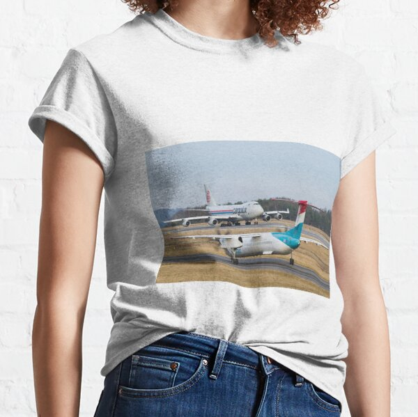 Luxair and Cargolux 747 Classic T-Shirt