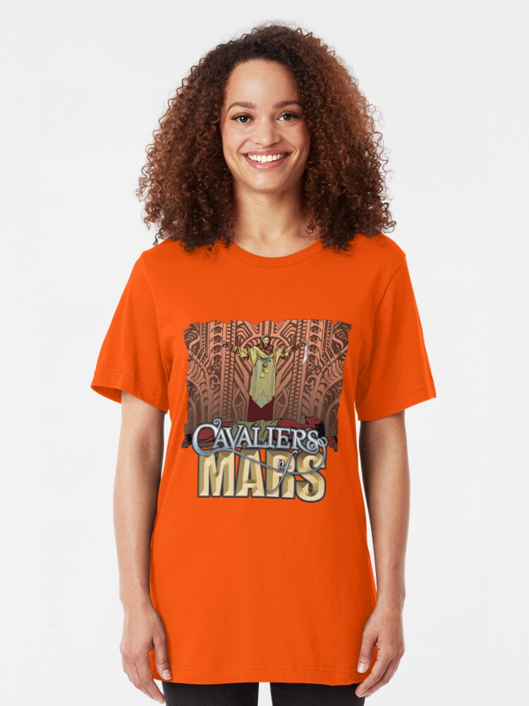Alternate view of Cavaliers Art: Ziggur Slim Fit T-Shirt
