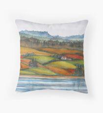 Memories of Cape Breton,  Nova Scotia, Canada Throw Pillow
