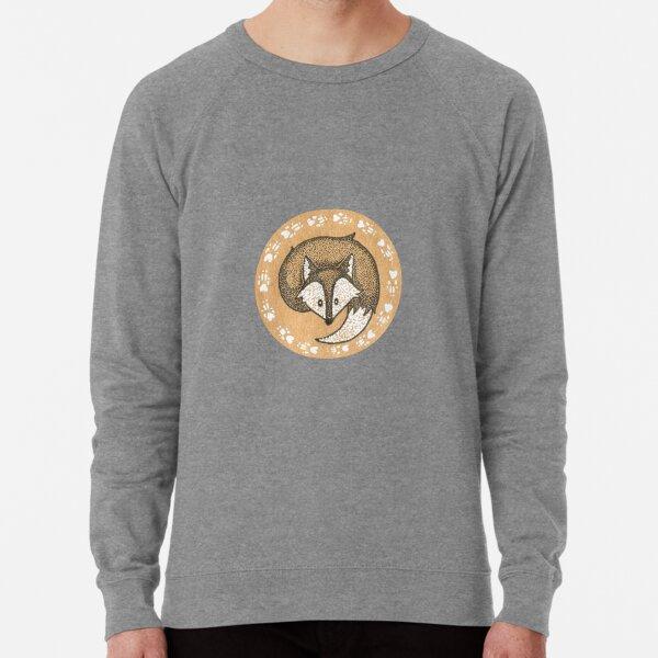 snow fox Lightweight Sweatshirt