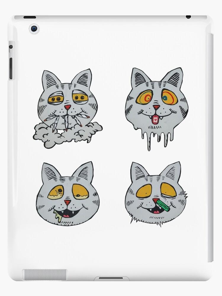 Fritz The Cat S Moods Ipad Case Skin By Annahallo34 Redbubble