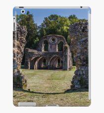 At Waverley Abbey Ruins  iPad Case/Skin