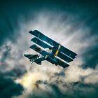 Fokker Triplane DR1  by Nigel Bangert
