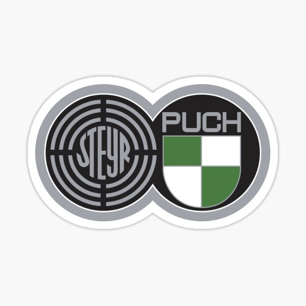 Steyr Puch Logo T3 Syncro Vespa Vanagon  Sticker