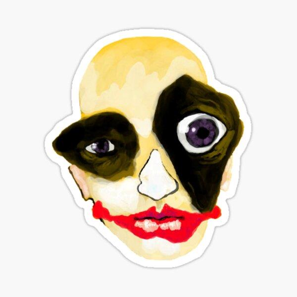 Jester Head Sticker