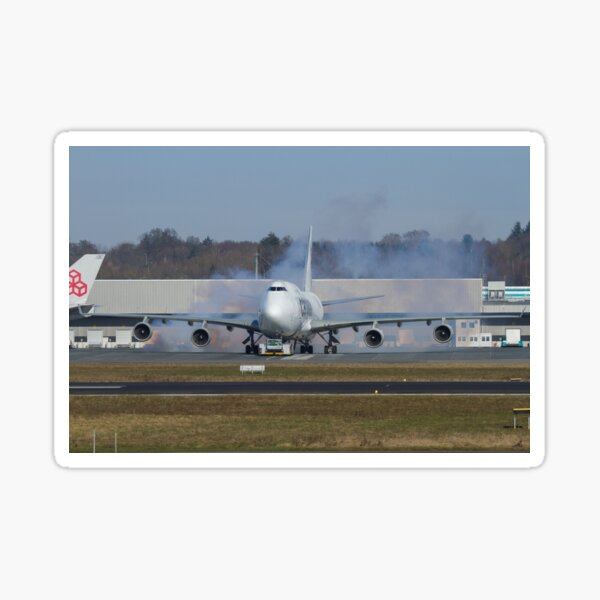 747 Cargolux Sticker