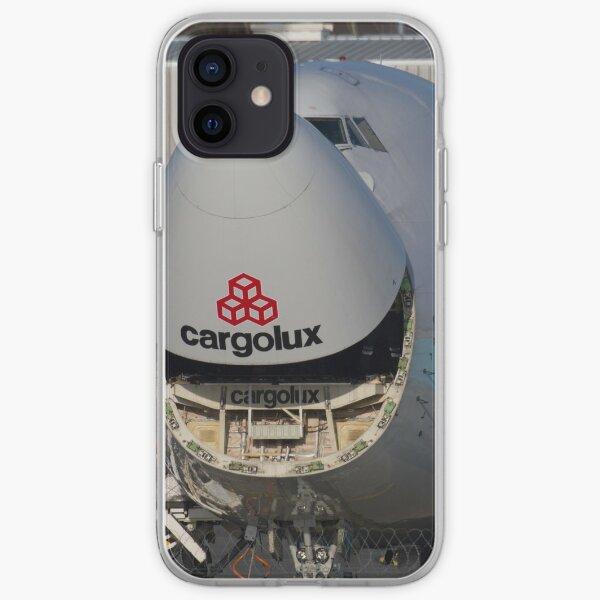 747 Cargolux Smiling iPhone Soft Case