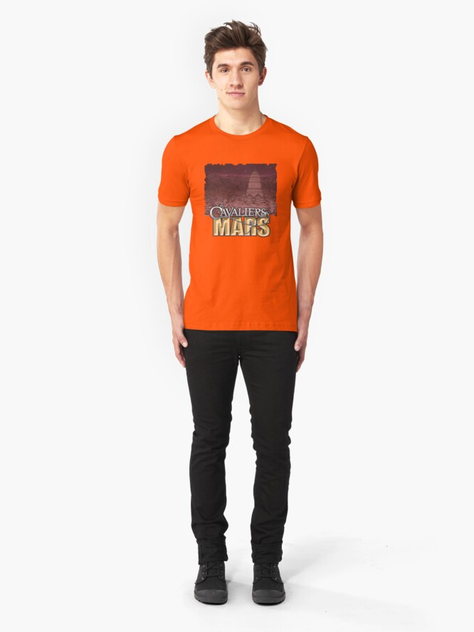 Alternate view of Cavaliers Art: Zodiac Slim Fit T-Shirt