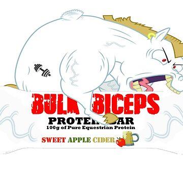 Bulk Biceps Protein Bar by BronyByHazel