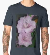 Pink flower, nature Men's Premium T-Shirt