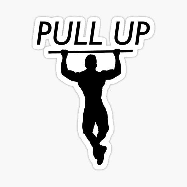 Pull up Sticker